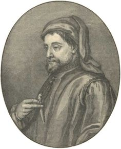 Geoffrey Chaucer: 14th century author whose Canterbury Tales are the finest example of Middle English literature