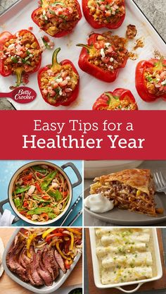 We know … it's hard to get motivated when all you want to do hibernate, but if you're working toward a healthier you this year, these quick and easy lifestyle changes can really add up. Great Chicken Recipes, Pasta Recipes, Clean Recipes, Healthy Recipes, Clean Foods, Skinny Recipes, Clean Eating, Healthy Eating, Healthy Food
