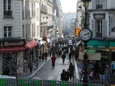 monmartre, Paris | Calles de Montmartre