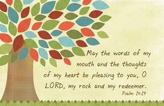 Autumn Tree art canvas with scripture by jtdesignsprinting on Etsy, $43.00