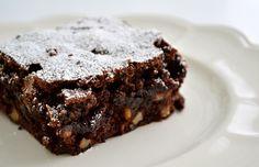 Goddelijk gevulde brownies… vanuit je voorraadkast!