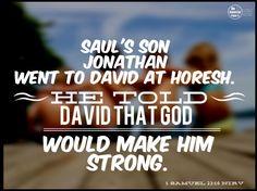 1 Samuel 23:16
