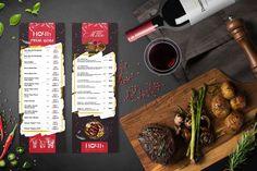 разработка дизайна  меню вкладыша для караоке-клуба  #design #menu #designer #дизайн #клуб #караоке #меню