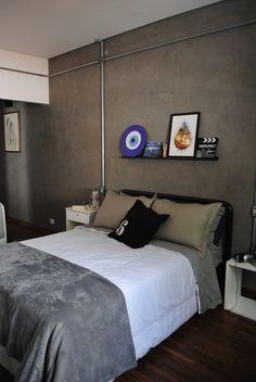 Room Ideias, Loft, Room Interior Design, Home Office, Boy Room, Room Inspiration, Decor Styles, Decoration, Master Bedroom