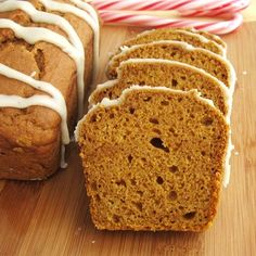 Vegan Pumpkin Nog Bread Recipe by carlasisters