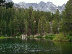 Emerald Lake, Mammoth Lakes California