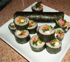 eho maki - good luck sushi (vegan style!)