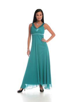 dce0ee9967 Sukienka FSU166 TURKUSOWY CIEMNY Sukienka FSU166 TURKUSOWY CIEMNY