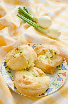 Eastern European Recipe: Cheese And Scallion Knishes