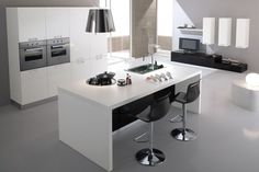 #ModernKitchen offered by #SpararredaIndia is elegant with clean design, modern and refined for #cooking space.