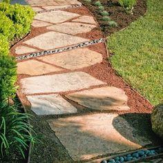 Decomposed Granite Pathway | decomposed granite Design Ideas, Flagstone pathway