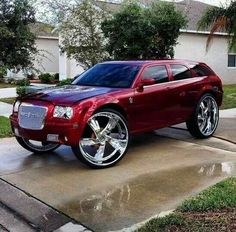 This photo was uploaded by sploaterboi. Custom Trucks, Custom Cars, Classic Trucks, Classic Cars, Pimped Out Cars, Candy Car, Donk Cars, Dodge Magnum, Custom Muscle Cars