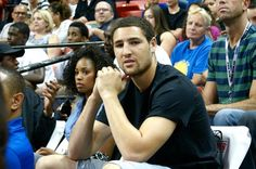 23a484673b4d Klay Thompson is in the building supporting his  Warriors in the   NBASummerLeague Championship Game