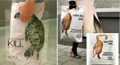 Creative Advertising - Plastic bags kill