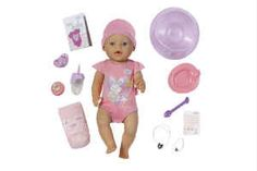 piger i 2 års alderen elsker at få en Baby Born i gave   Shopsites.dk