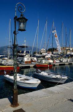 Fiskardo harbour, Kefalonia, Greece