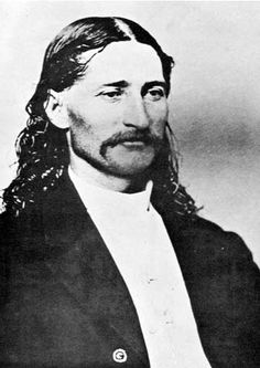 Wild Bill Hickok ~ a handsome man from about 10 miles from  my home in Illinois