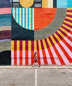 Graffiti Wall Art, Mural Wall Art, School Murals, Outdoor Wall Art, Murals Street Art, Illustration, Community Art, Public Art, Oeuvre D'art