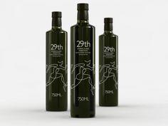 un packaging para aceite de oliva muy molón...