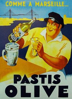 Affiches anciennes alcool