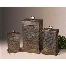Grace Feyock 3 Pc Set Nera Boxes