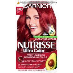Red Hair Dye Box, Bright Red Hair Dye, Dyed Hair, Best Red Hair Dye, Hair Color Shades, Red Hair Color, Purple Hair, Color Red, Permanent Red Hair Dye
