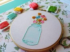 20+ Adorable Hand Embroidery Patterns: If you love hand embroidery then you won't want to miss this collection of adorable patterns. Click through for the full list of patterns.| www.sewwhatalicia.com