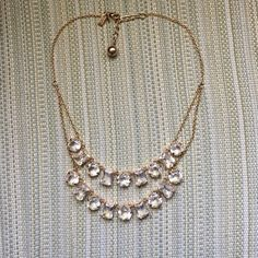 Kate spade double row necklace Two row crystal necklace kate spade Jewelry Necklaces