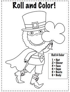 Crazy Speech World: Super Leprechaun to the Rescue {FREEBIE}...no color ink or laminating required!