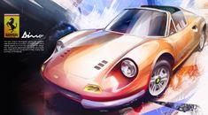 Max Ostap. automotive art « All The Sketches.com