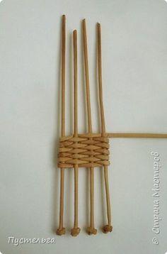 Олени для детских МК (всего 12 трубочек). Идея взята у мастеров плетения из лозы. фото 6