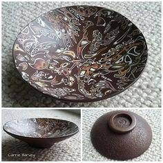 Mokume Gane bowl | 4.5in (11.5cm) | Carrie Harvey | Flickr