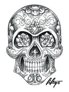 sugar skull - Google Search