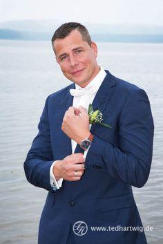 Der coole Bräutigam. Hochzeitsfotos mit Stil.