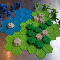 New #PocketTactics map tiles #boardgames #3dprinting #3Dprinted #tabletop #rpg #fantasy #sciencefiction #OpenSource #gaming #Wayfarer #multiverse #hexagon #IllGottenGames by dutchmogul