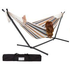 Portable Hammock w/Stand : $59.94 + Free S/H (reg. $249.95) http://www.mybargainbuddy.com/portable-hammock-wstand-59-94-free-sh