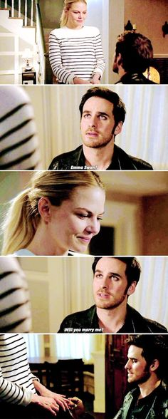 Emma and Killian: Will you marry me?
