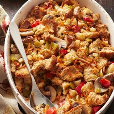 Loaded Bread Stuffing Beet Salad Recipes, Kale Recipes, Vegetarian Recipes Easy, Healthy Side Dishes, Side Dish Recipes, Easy Green Bean Recipes, Weight Watcher Vegetable Soup, Sprouted Grain Bread, Roasted Root Vegetables
