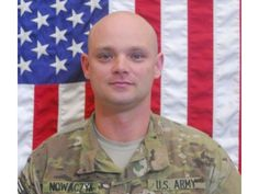 Army SSG David P. Nowaczyk, 32, of Dyer, Indiana. Died April 15, 2012, Serving During Operation Enduring Freedom. Assigned to 2nd Battalion, 12th Infantry Regiment, 4th Brigade Combat Team, 4th Infantry Division, Fort Carson, Colorado; died in Kunar Province, Afghanistan, of wounds suffered when his vehicle was attacked with an enemy improvised explosive device.