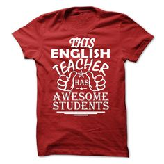 This English Teacher Has Awesome Student T-Shirts, Hoodies, Sweaters