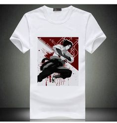 Free Shipping Naruto Print White Shirt For Men Sasuke & Itachi  Short Tops Japan Hotest Anime Shirt For Men & Women-in T-Shirts from Men's Clothing & Accessories on Aliexpress.com | Alibaba Group