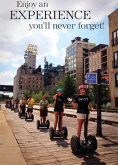 We have those Segway Tour passes to use as soon as this eternal winter comes to an end.