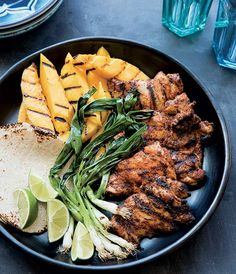 Grilled Chicken Tacos With Mango