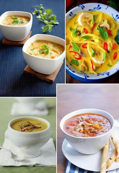 Heiße Suppen-Rezepte für Herbst & Winter - Nach einem langen Spaziergang an der kühlen frischen Luft, nach dem Schlittschuhlaufen oder einfach, weil uns im Herbst und Winter wieder öfter danach ist: Jetzt kommt heiße Suppe auf den Tisch...