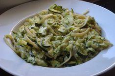 Gourmandises végétariennes: Pasta mit Zucchini-Feta-Sauce