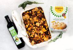 Make this savory, seasonal recipe using grain-free, gluten-freeSimple Mills Artisan Bread Mixand Primal Kitchen® Avocado Oil.
