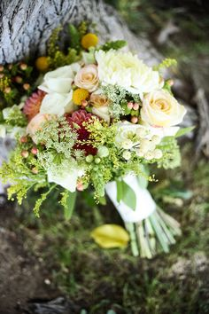 love all of the flowers/composition