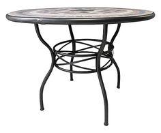 Table ronde KYRA, noir - Ø100