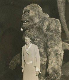 Amelia Earhart and Son of Kong 1933