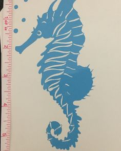 SEAHORSE DECAL Custom decals, monogram decals, pet decals, decals for Yeti, Ozark, Rtic and more, decal gifts designsbystaceylynn@gmail.com